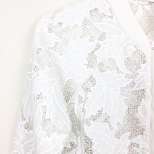 Design Lab Lord & Taylor Jackets & Coats - Design Lab | Lord & Taylor Lace Bomber Jacket